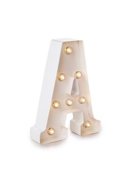 Darice Light Up White Marquee Letter   Letter A   9.875 Inches by Darice