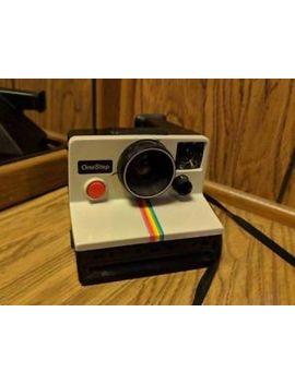 Vintage Polaroid One Step Land Camera Sx 70 Rainbow by Polaroid