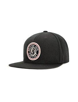 Brixton Men's Rival Medium Profile Adjustable Snapback Hat by Brixton