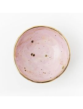 A Mano Ceramic Trinket Dish by West Elm