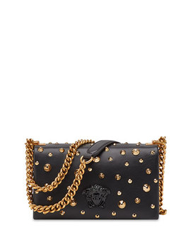 Napa Crossbody Bag With Borchie Punk Studs by Neiman Marcus