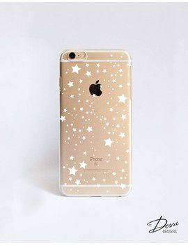 Clear Stars Phone Case Design For I Phone Cases,  Samsung Cases, Google Pixel Cases And One Plus 5 Cases by Etsy