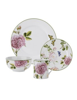 Spode Roses 16 Piece Dinnerware Set, Service For 4 & Reviews by Spode