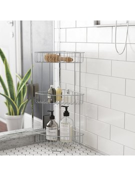 Rebrilliant Free Standing Shower Caddy & Reviews by Rebrilliant