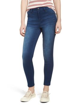 Butter High Waist Skinny Ankle Jeans by 1822 Denim