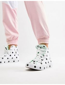 Converse Chuck Taylor All Star Hi Trainers In Polka Dot by Converse