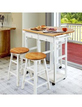 Arts And Crafts Breakfast Cart With Drop by Generic