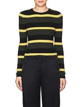 Shea Striped Wool Blend Sweater by A.L.C.