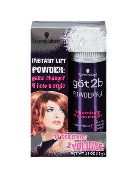 Got2b Powder'ful Volumizing Hair Styling Powder 0.35 Ounce by Schwarzkopf