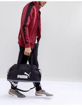 Puma Phase Sport Bag In Black 07494201 by Puma