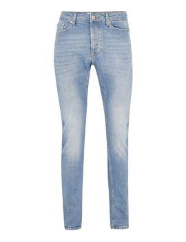 Light Wash Stretch Skinny Jeans by Topman