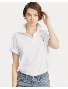 Pride Big Shirt Cotton Polo by Ralph Lauren