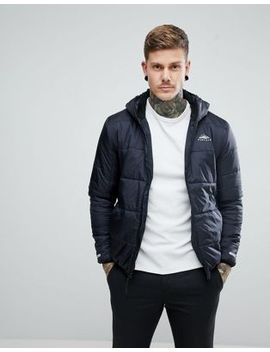 penfield-schofield-hooded-jacket-lightweight-quilted-in-black by penfield