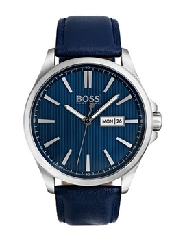 Men's The James Leather Strap Watch, 42mm by Boss