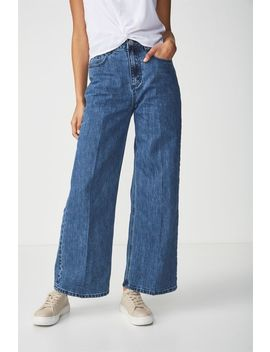 High Rise Wide Leg Jean by Cotton On