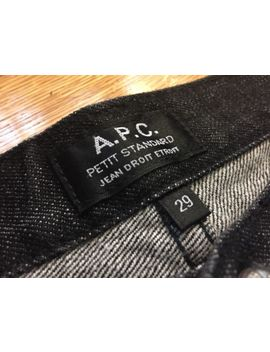 A.P.C. Mens Denim Jeans — Black Denim by Apc