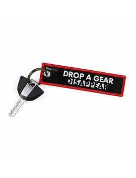 Keychains By Key Tails, Premium Quality Key Tag For Motorcycle, Car, Scooter, Atv, Utv [Drop A Gear & Disappear] by Key Tails