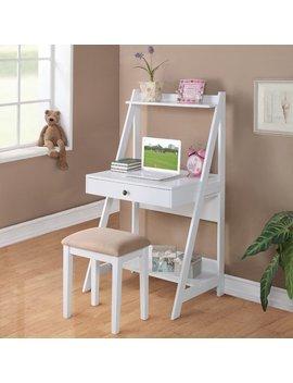 Red Barrel Studio Stauffer Ladder Desk With Stool & Reviews by Red Barrel Studio