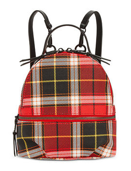 Val Plaid Backpack by Steve Madden