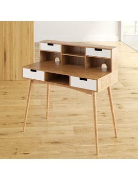 Langley Street Phoebe Writing Desk With Hutch & Reviews by Langley Street