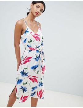 Платье макси на бретельках с цветочным принтом Y.A.S by Asos