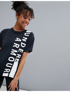 Under Armour Graphic Tee In Black by Under Armour