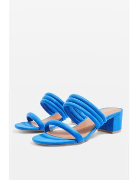 Dixie Tubular Block Mules by Topshop