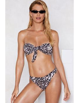Cool Cat Leopard Bikini Set by Nasty Gal