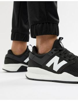 New Balance   247v2   Sneakers In Zwart Ms247 Eb by Asos