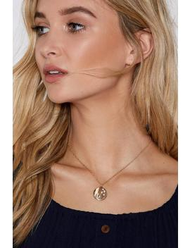 Scorpio Star Sign Necklace by Nasty Gal
