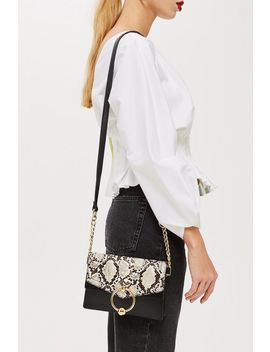 Selina Snake Crossbody Bag by Topshop