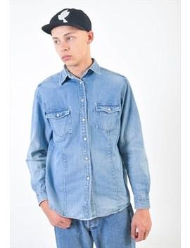Vintage 90s Denim Shirt by Goose Goose