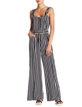 City Girl Stripe Jumpsuit by Free People