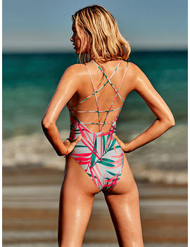 Reversible Strappy Back One Piece by Victoria's Secret