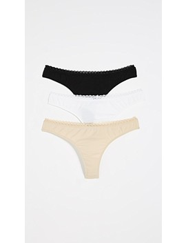 X Cosabella Thong 3 Pack by Bop Basics