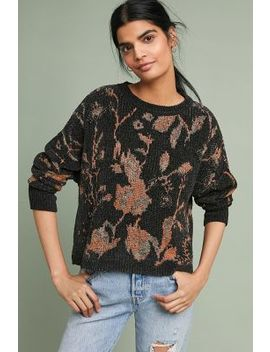 Floral Intarsia Pullover by Teoh & Lea