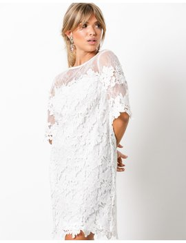 Crochet Loose Dress by Nly Trend