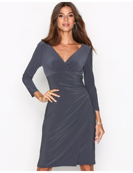 Elsie 3/4 Sleeve Day Dress by Lauren Ralph Lauren