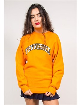 Vintage 90's Orange Tennessee Sweatshirt by The Vintage Scene