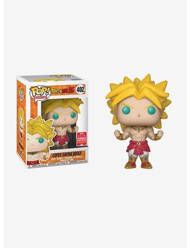 Funko Dragon Ball Z Pop! Animation Super Saiyan Broly Vinyl Figure 2018 Summer Convention Exclusive by Hot Topic