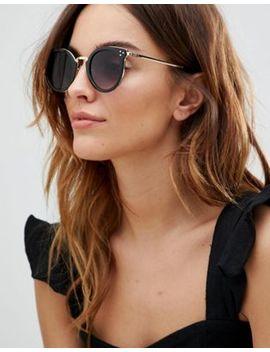 Круглые солнцезащитные очки Accessorize Lizzy by Asos