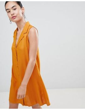 Платье на пуговицах спереди Pimkie by Asos