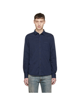 Navy Henry Shirt by Nudie Jeans