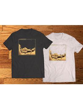 Weezer Pinkerton Logo Men's Black & White T Shirt Tee Xs 3 Xl by Handmade