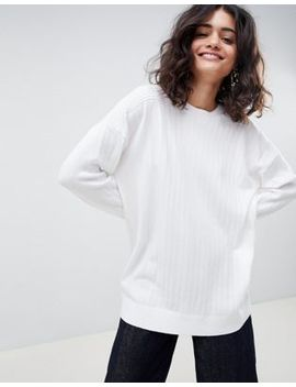 Asos Design Oversize Jumper In Fine Knit by Asos Design