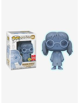 Funko Harry Potter Pop! Moaning Myrtle Glow In The Dark Vinyl Figure 2018 Summer Convention Exclusive by Hot Topic