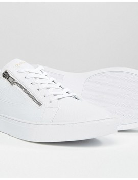 Glorious Gangsta London Lo Top Trainers In White by Glorious Gangsta