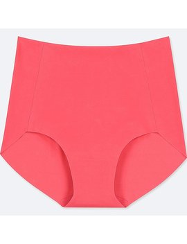 Women Ai Rism High Rise Brief Ultra Seamless Shorts by Uniqlo