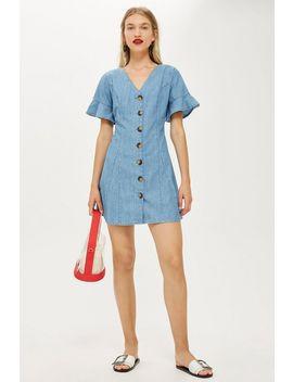 Lightweight Denim Dress by Topshop