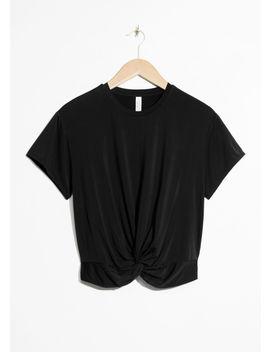 Twist Knot Top by & Other Stories